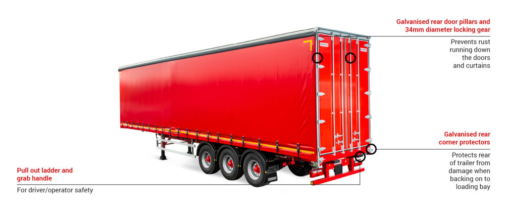 Dennison Curtainsider Trailer
